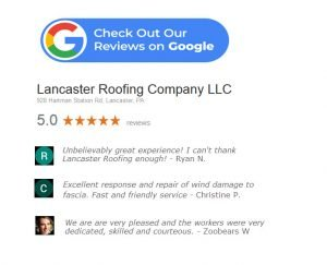 google lancaster roofing reviews