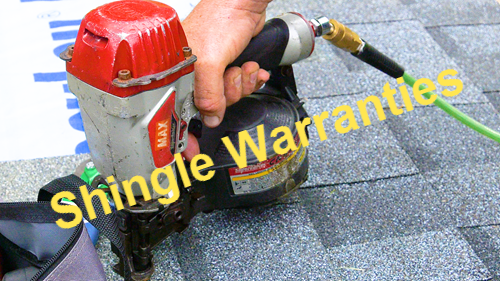 shingle warranties
